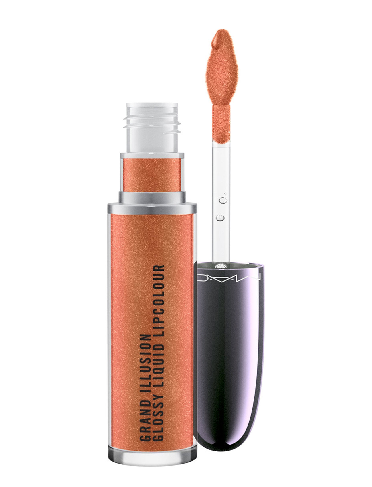 M.A.C. Grand Illusion Glossy Liquid Lipcolour Autumn Russet - AUTUMN RUSSET