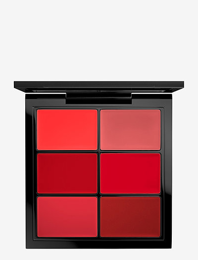 PRO LIP PALETTE SIX EDITOR REDS - læbestift - 6 editorial reds