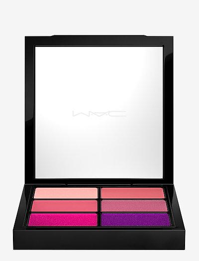 PRO LIP PALETTE/8 - läppstift - 6 preferred pinks