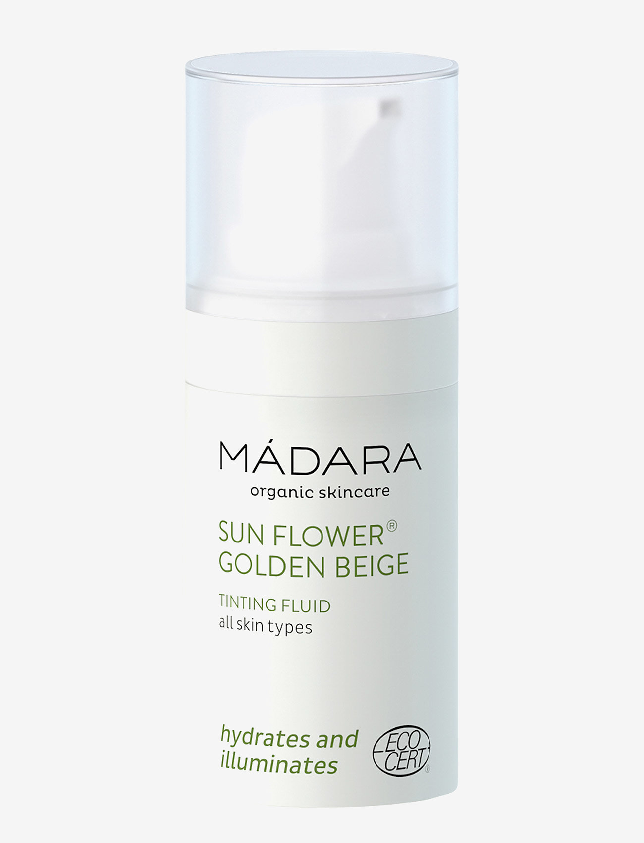 MÁDARA - Sunflower - Tinting Fluid, 50 ml - foundation - clear - 0
