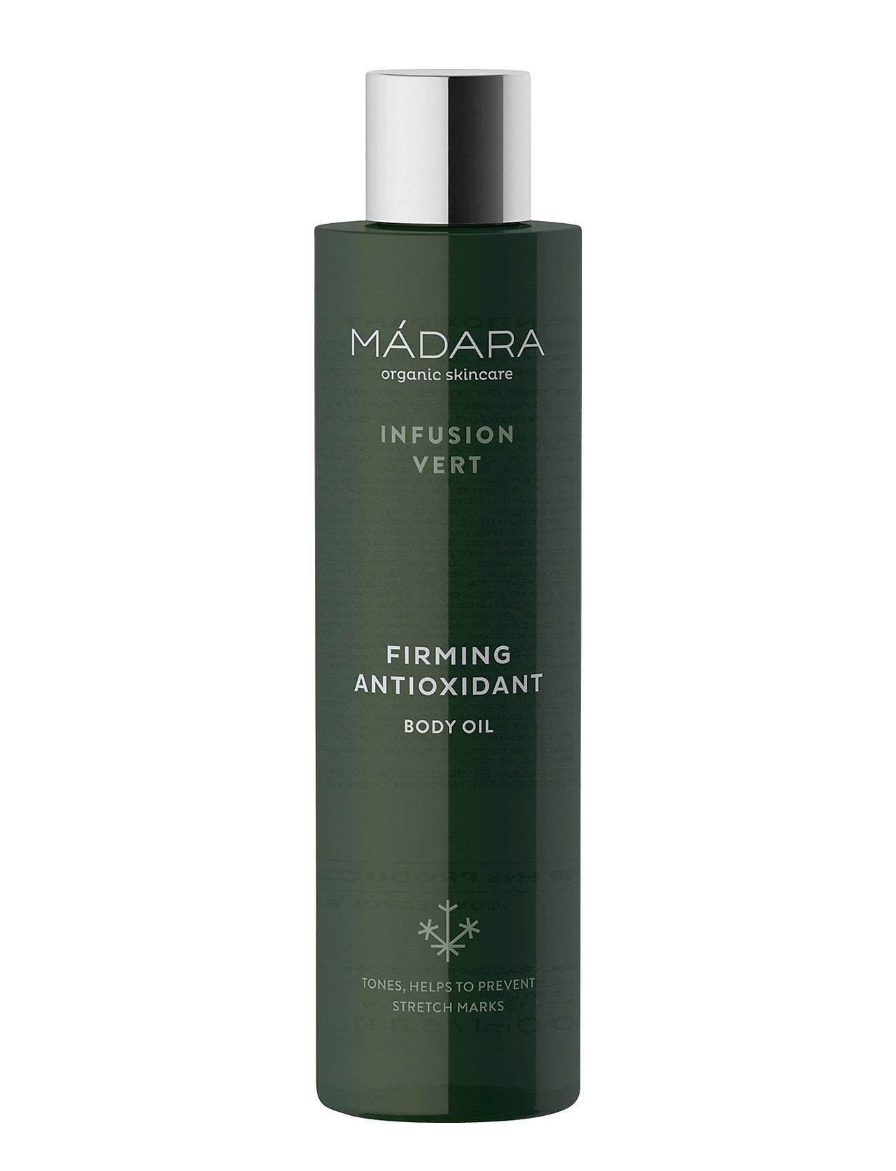 Image of Infusion Vert Firming Antioxidant Body Oil, 200 Ml Beauty WOMEN Skin Care Body Body Oils Nude MÁDARA (3067519531)