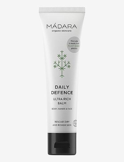 """Ultra Rich Balm """"Daily Defense"""", 60 ml - päivävoiteet - clear"""