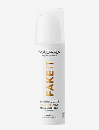 Fake IT - Natural Look Self-Tan Milk, 150ml - CLEAR