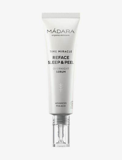 Mádara Time Miracle Reface Sleep & Peel Overnight Serum - serum - clear