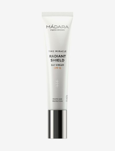 Mádara Time Miracle Radiant Shield Day Cream SPF15 40 ml - ansikte - clear