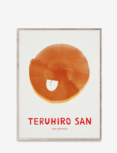 Teruhiro San, 30x40 - posters - multi