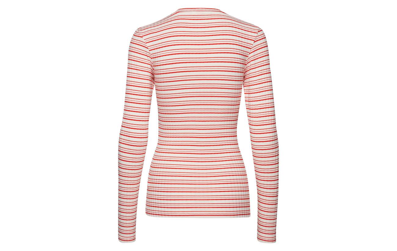 Détail 100 Red Stripe Polyester Cool Extérieure Viscose 8 Tuba Coquille S Nørgaard Mads Thread warm 92 Elastane Dark Ecru 5x5 1qUgga