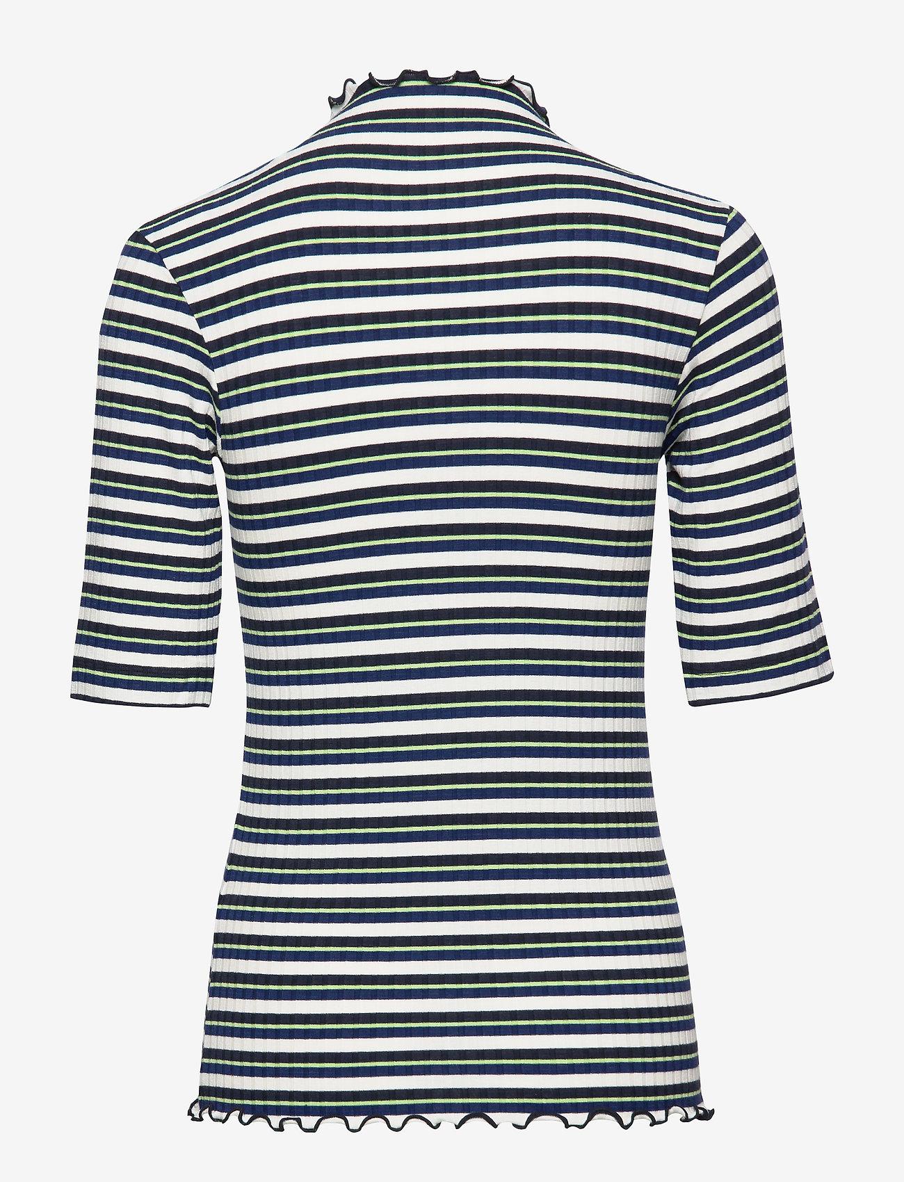 5x5 Dream Stripe Trutte Short (Navy Multi) (525 kr) - Mads Nørgaard
