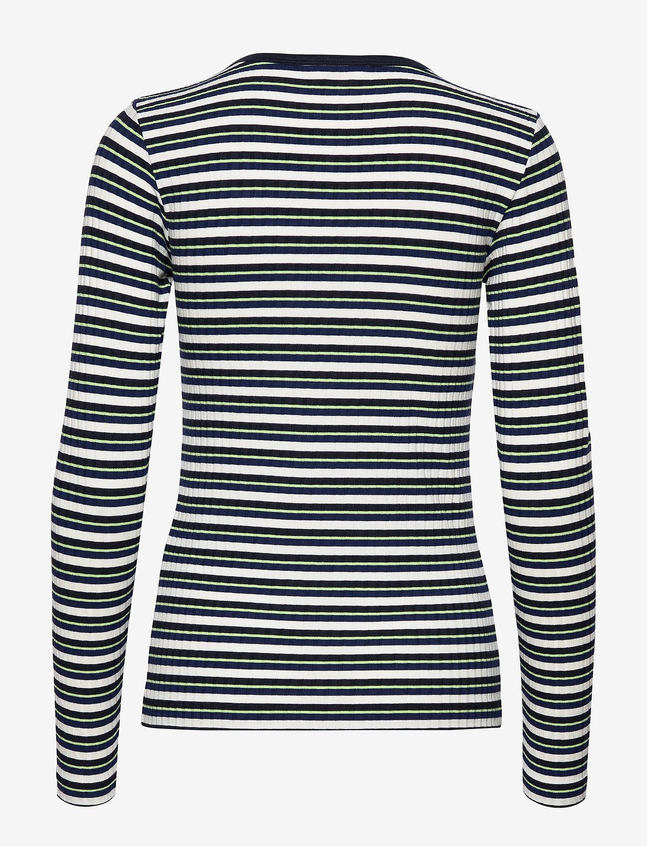 5x5 Dream Stripe Carolla Short (Navy Multi) (630 kr) - Mads Nørgaard