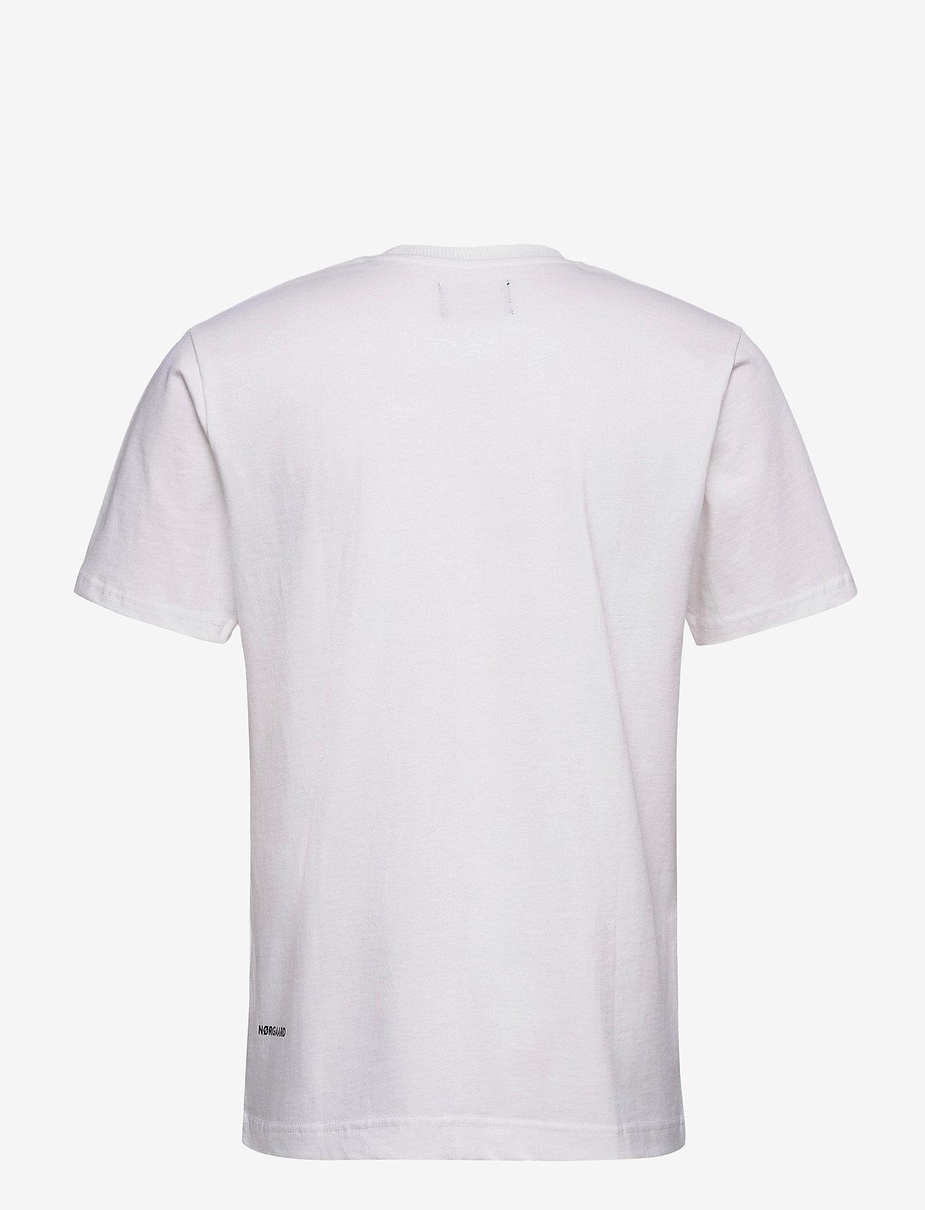 Mads Nørgaard Organic Twin - T-skjorter WHITE - Menn Klær