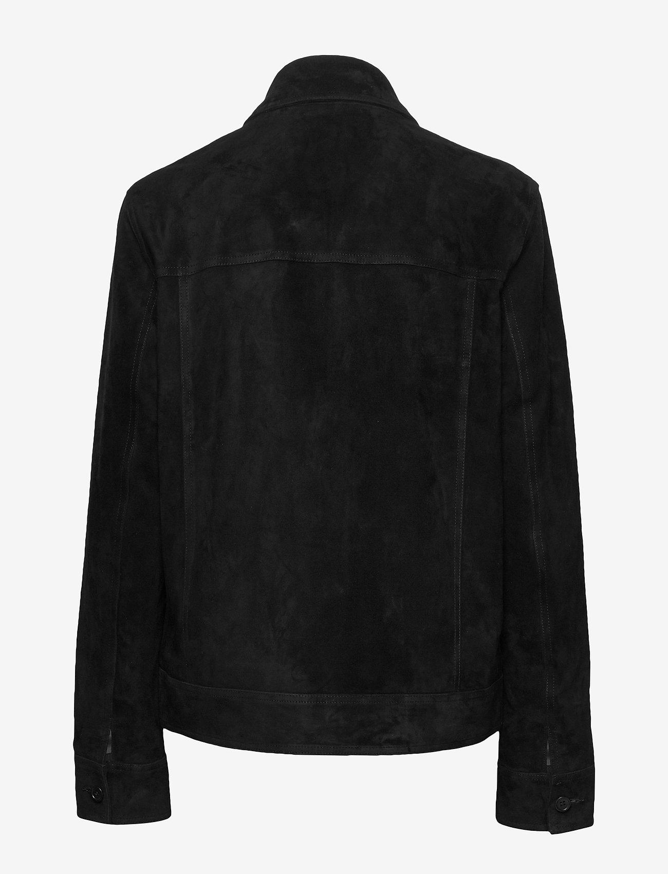 Mads Nørgaard - Leather Jusuf - nahkatakit - black - 1