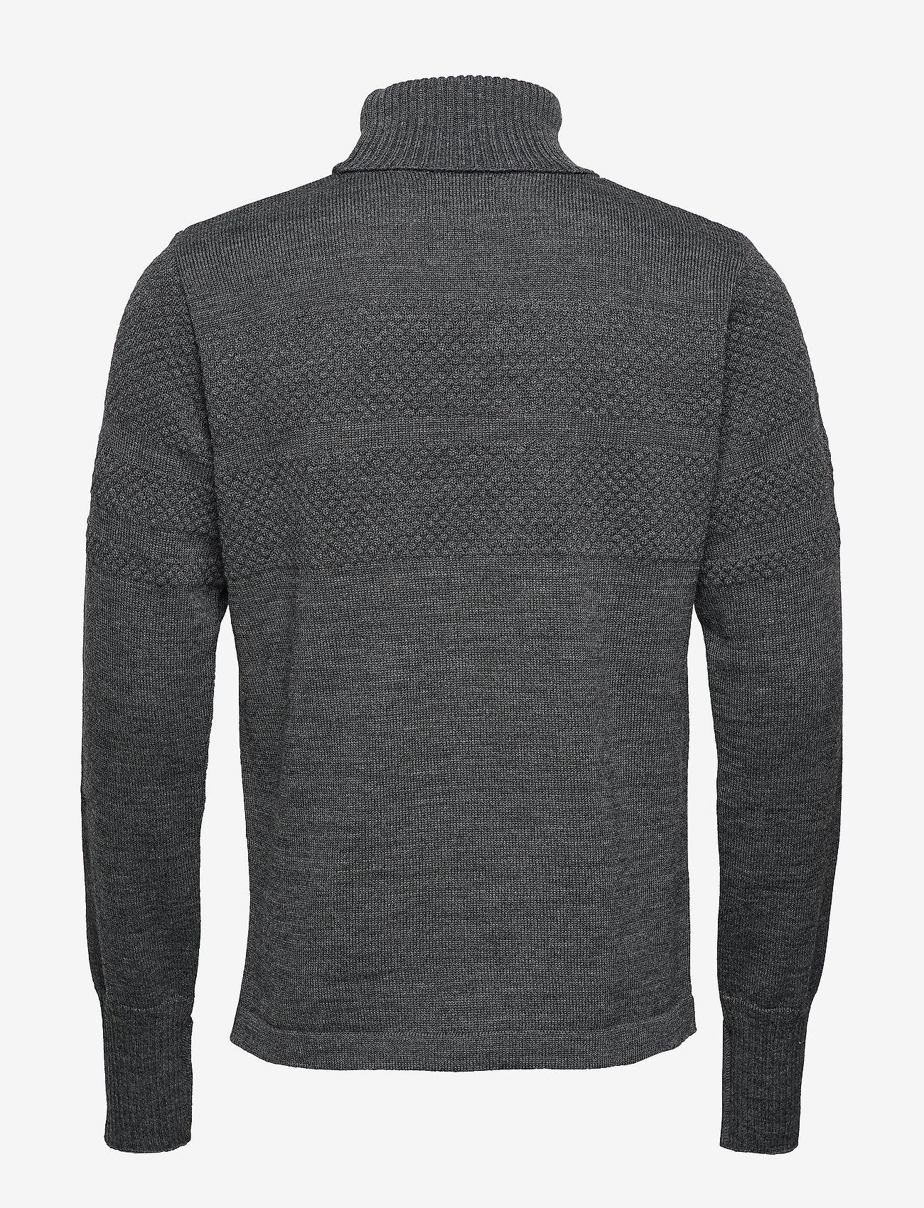 Mads Nørgaard - 100% Wool Klemens - basic strik - charcoal melange - 1