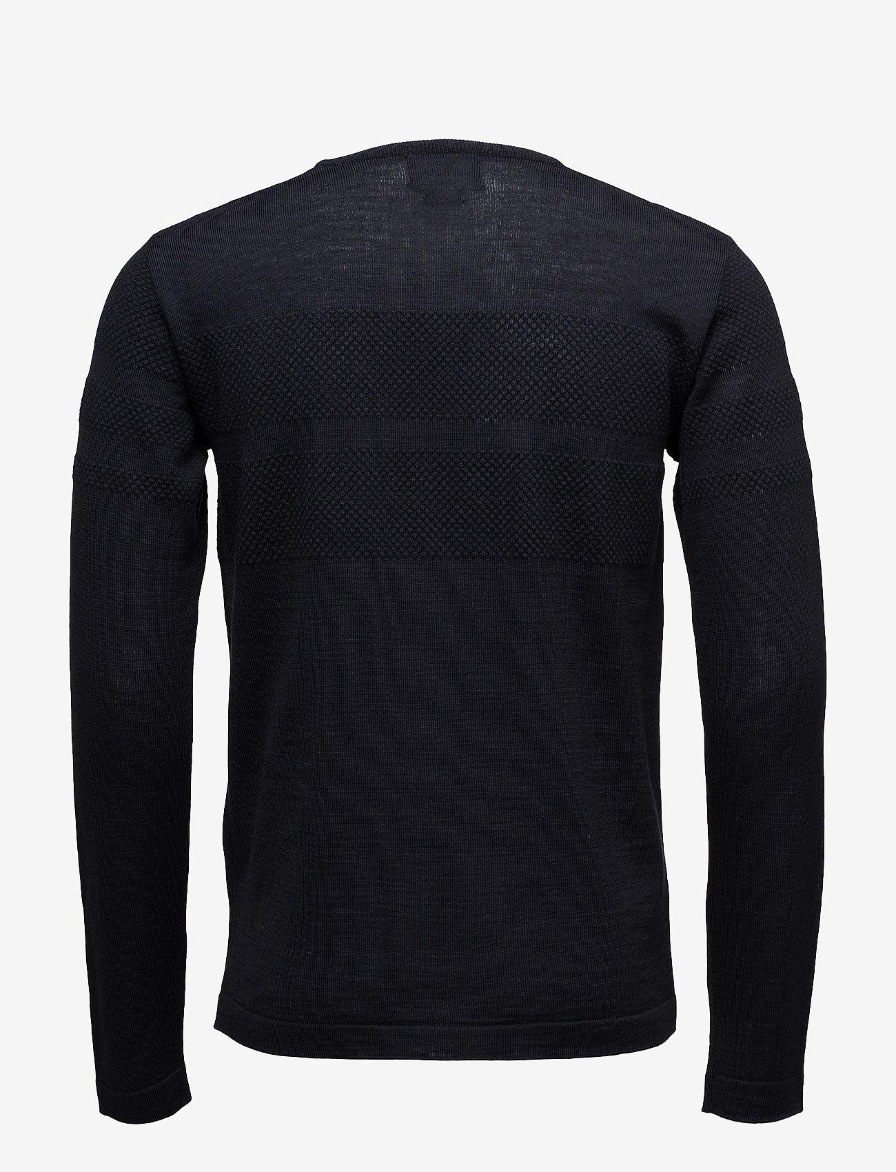 Mads Nørgaard 100% Light Wool Klap - Strikkevarer NAVY - Menn Klær