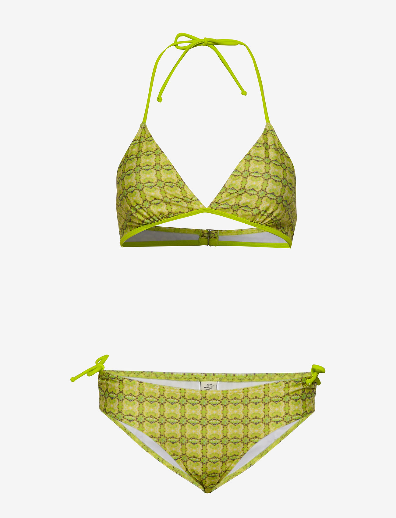 Mads Nørgaard - Ibiza Bikinna B - bikini set - bright lime - 0