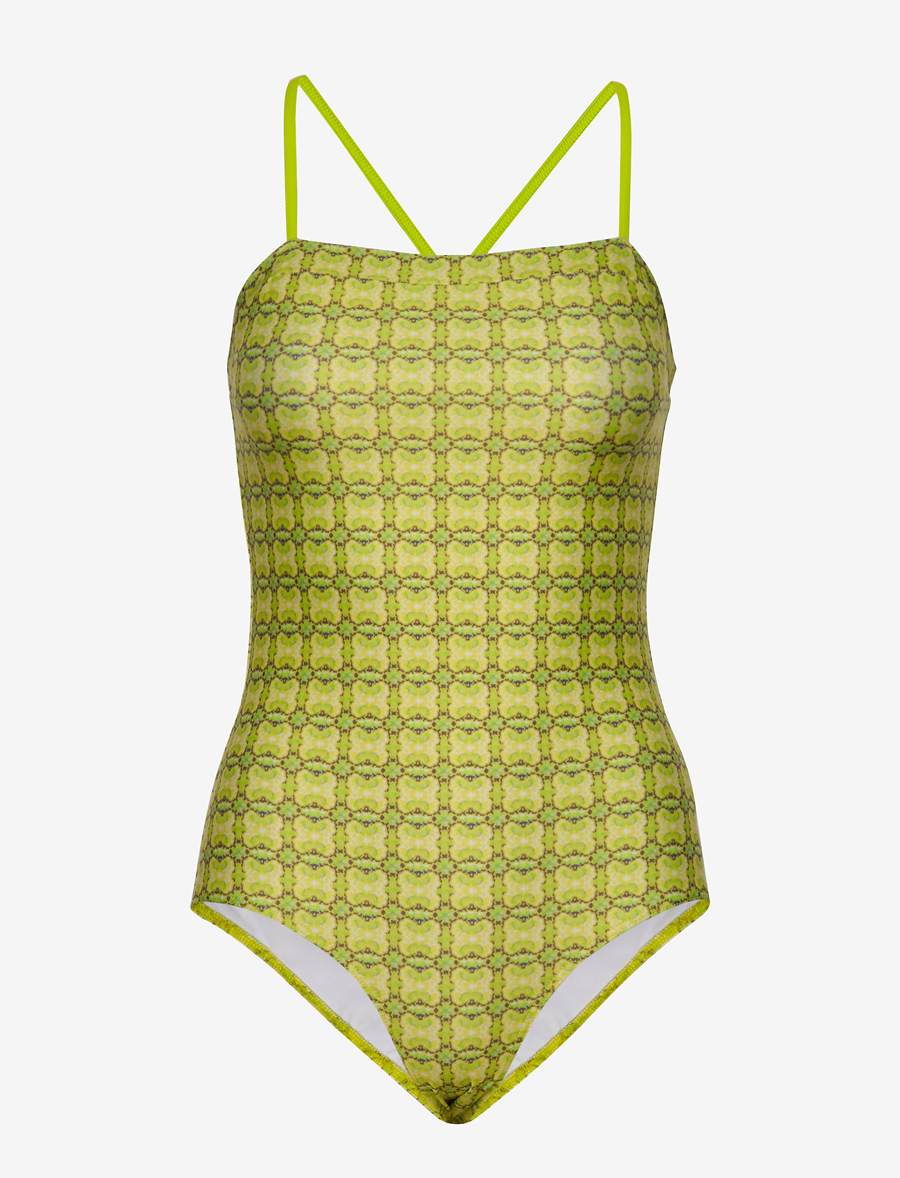 Mads Nørgaard - Ibiza Swimma - maillots 1 pièce - bright lime