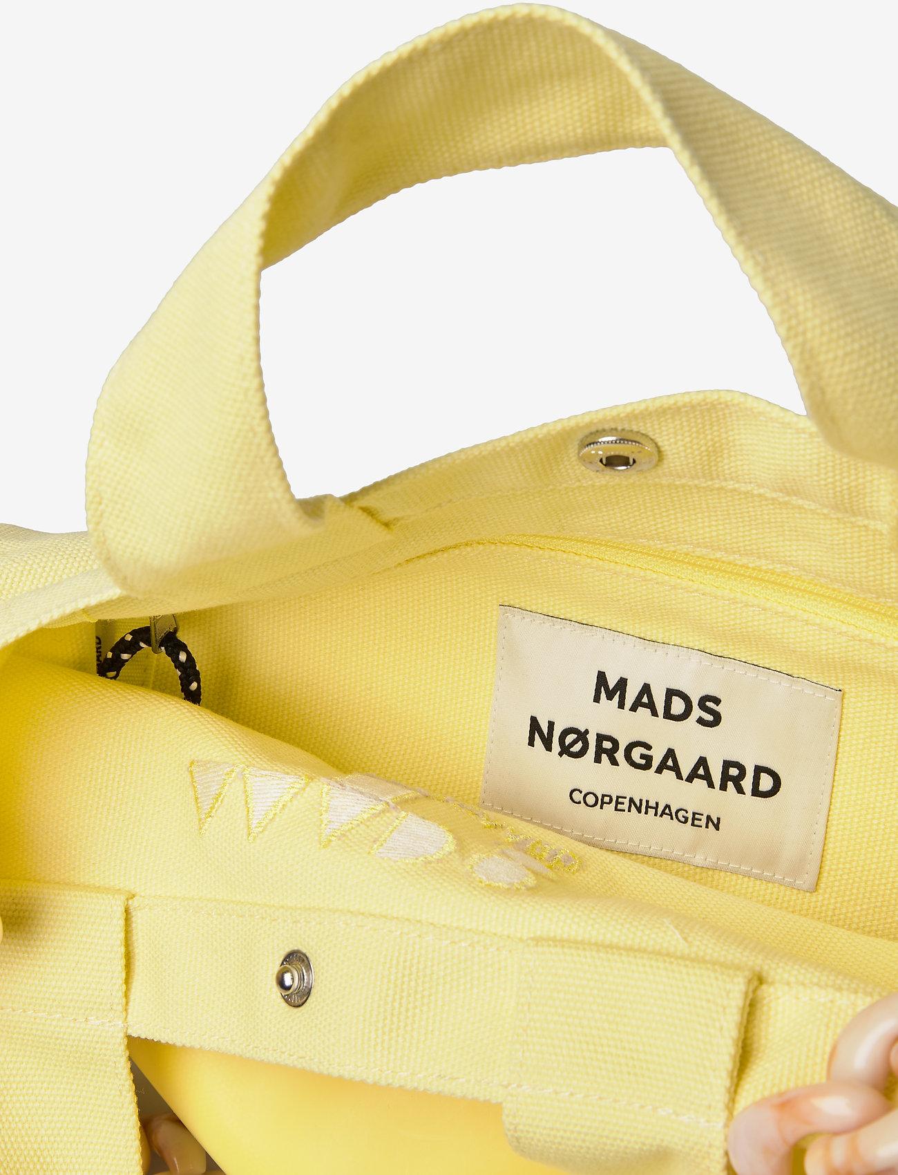 Mads Nørgaard Töte Bag Y - Torebki SOFT YELLOW - Torby