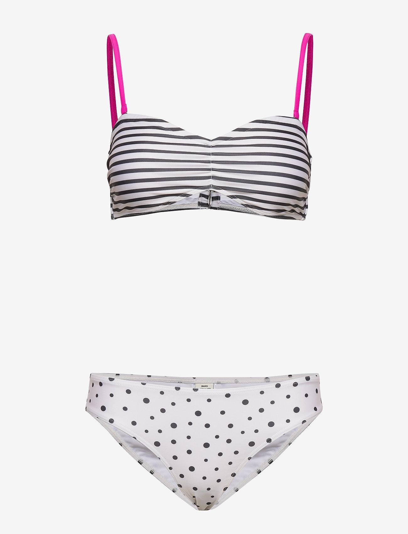 Mads Nørgaard - Ibiza Binna Boo - bikini set - off white/black - 0