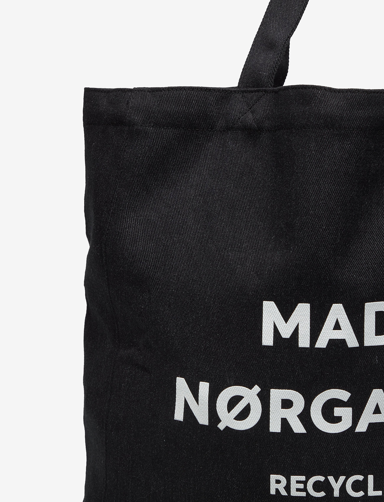 Mads Nørgaard Recycled Boutique Athene - Torby na zakupy BLACK/WHITE - Torby