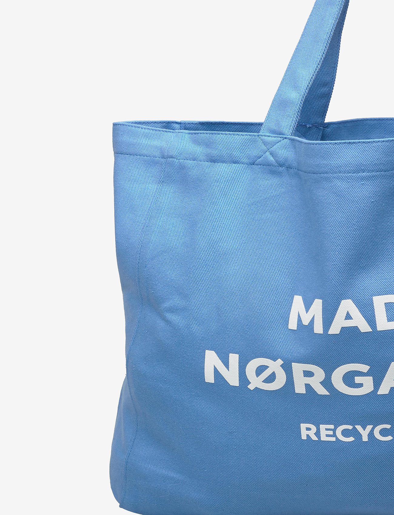 Mads Nørgaard Recycled Boutique Athene - Torby na zakupy BLUE/WHITE - Torby