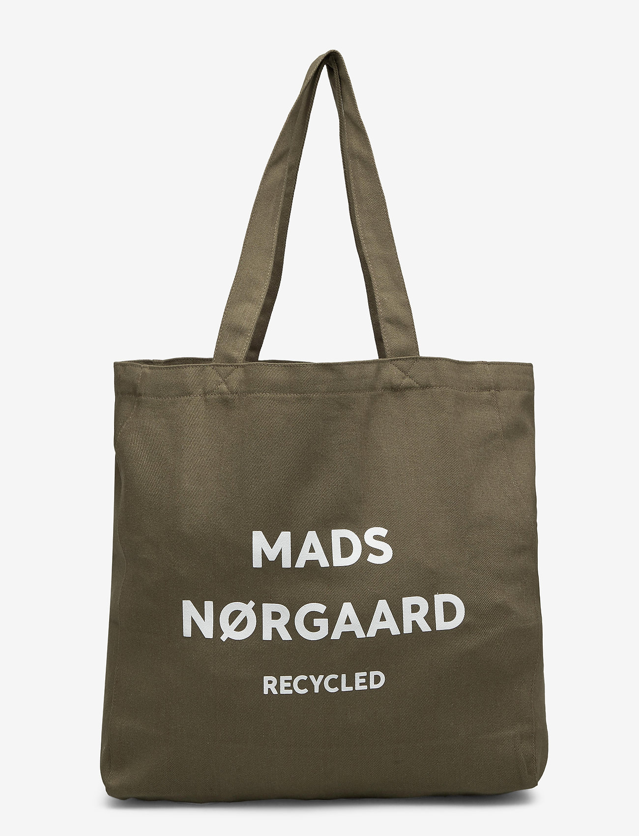 Mads Nørgaard - Recycled Boutique Athene - casual shoppers - dark army/white - 0