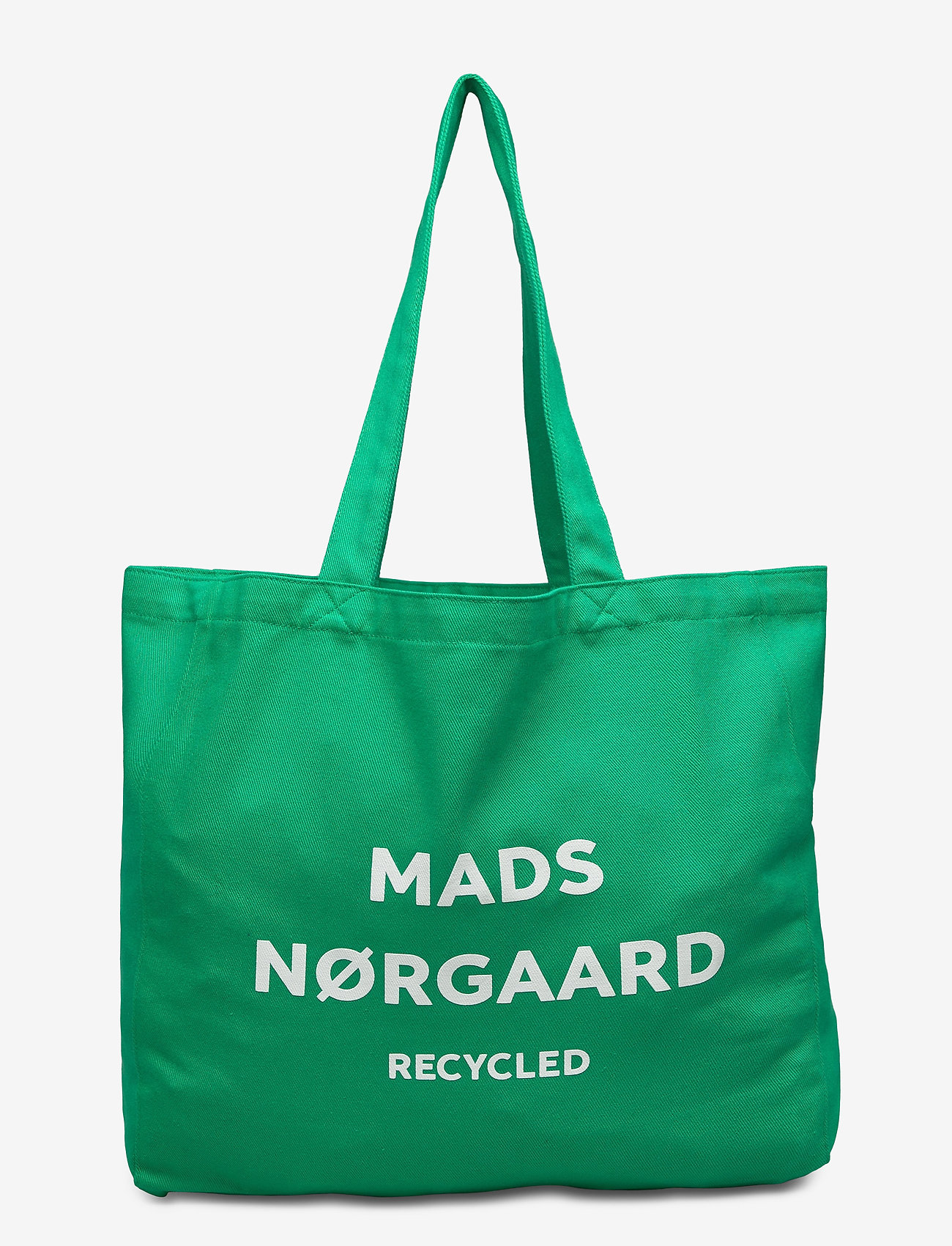 Mads Nørgaard - Recycled Boutique Athene - casual shoppers - signal green/white - 0