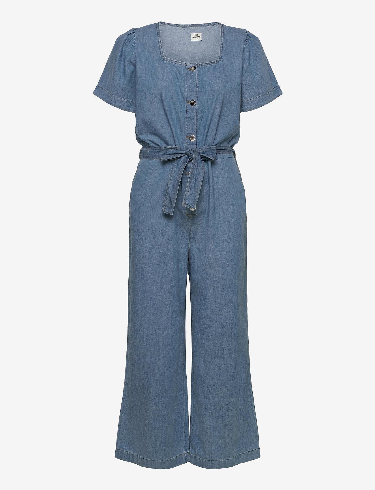 Mads Nørgaard - Light Indigo Cammy - tøj - soft blue - 0