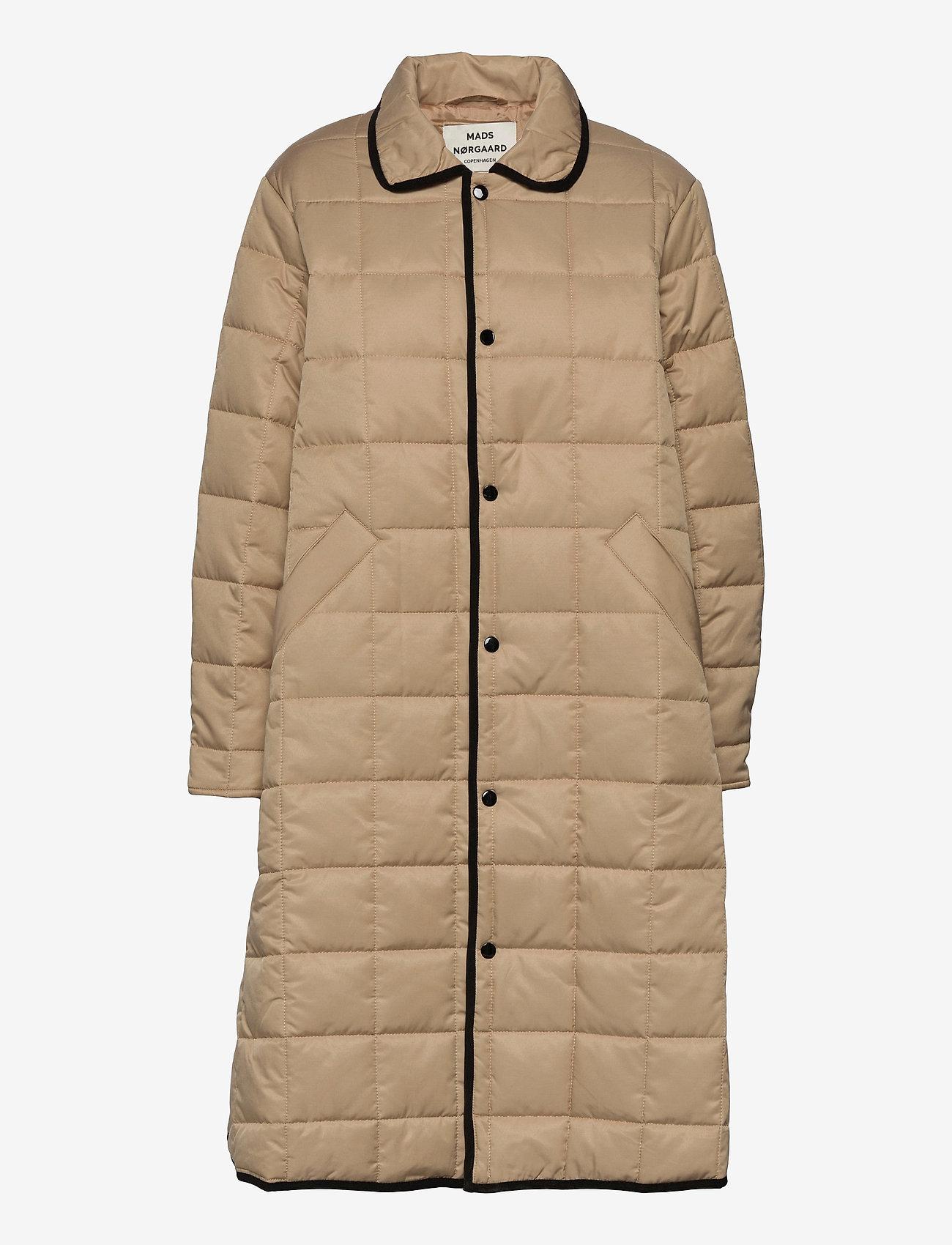 Mads Nørgaard - Duvet Dream Celestine - quiltede jakker - warm beige - 0