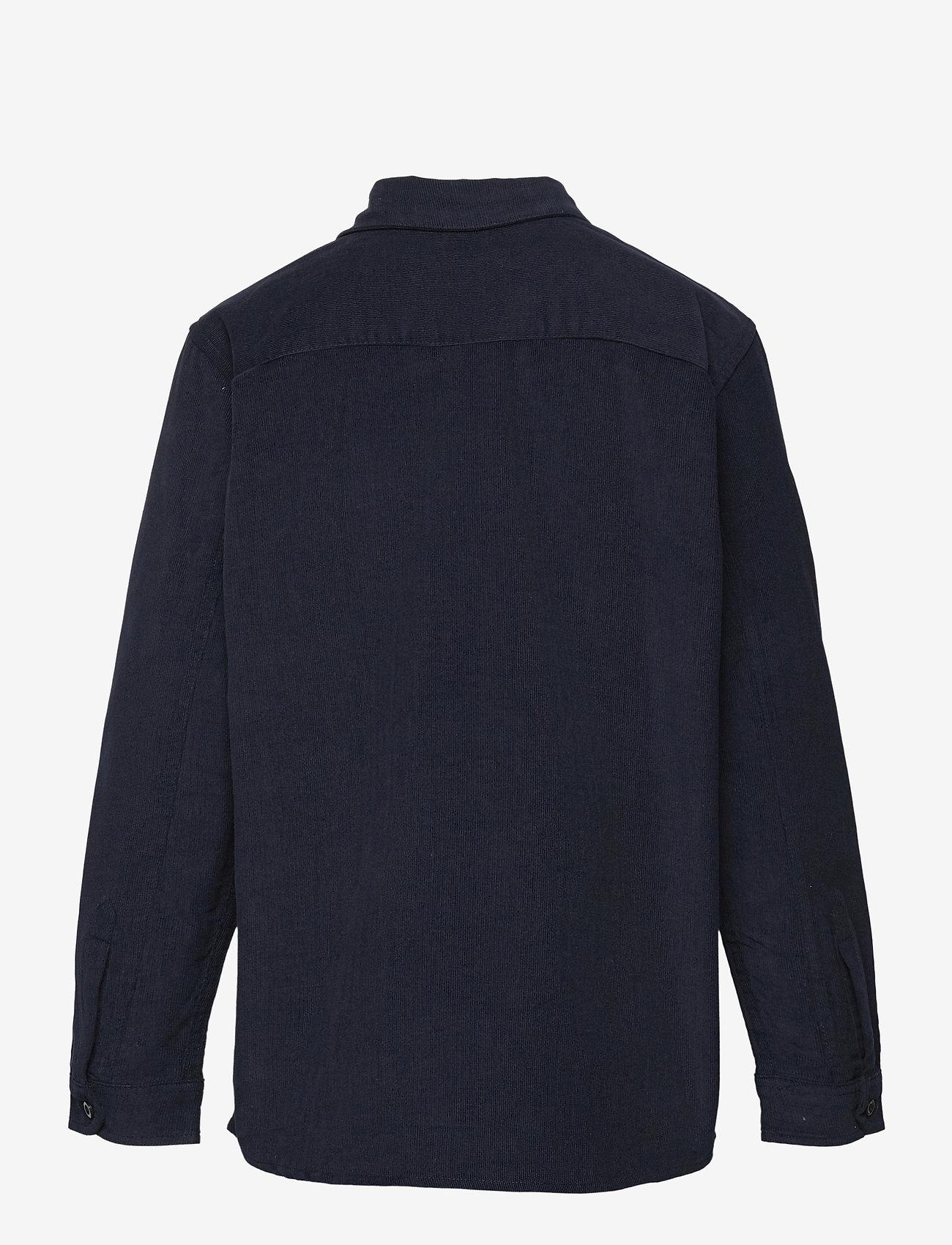 Mads Nørgaard - Dyed Baby Cord Svantini - shirts - parisian night - 1