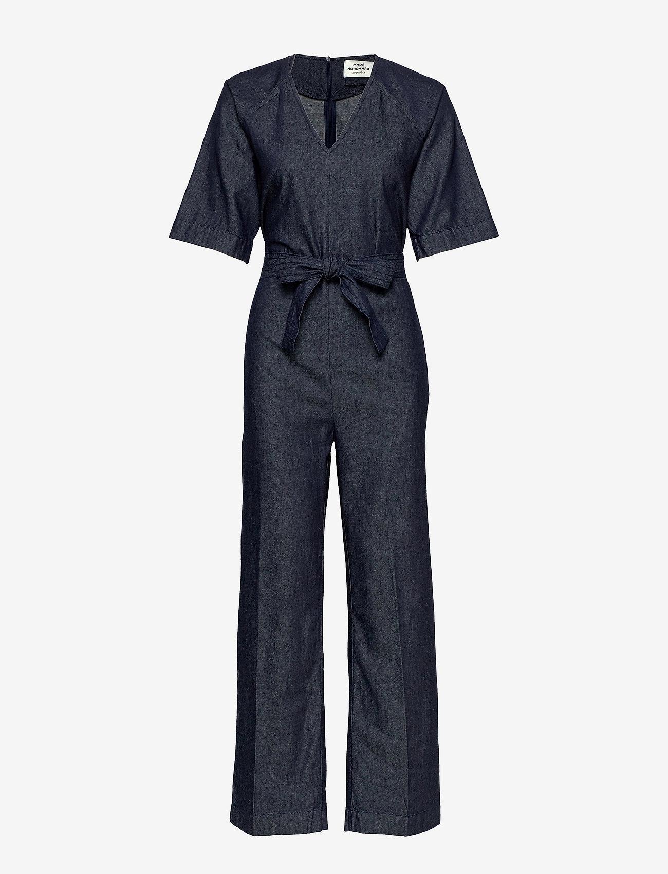 Mads Nørgaard - Fall Indigo Jilda - clothing - unwashed - 0