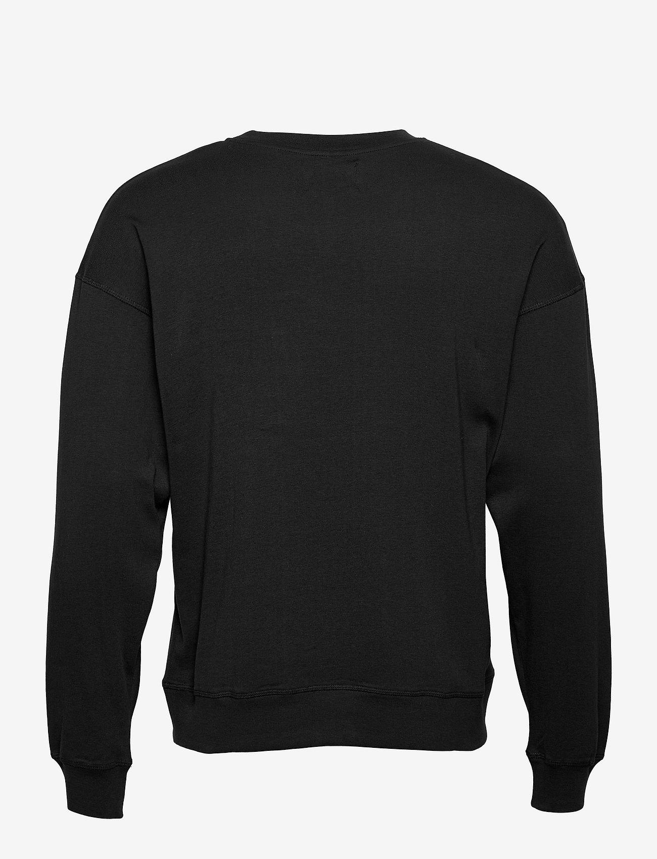 Mads Nørgaard - Cotton Rib Son Badge - truien - black - 1
