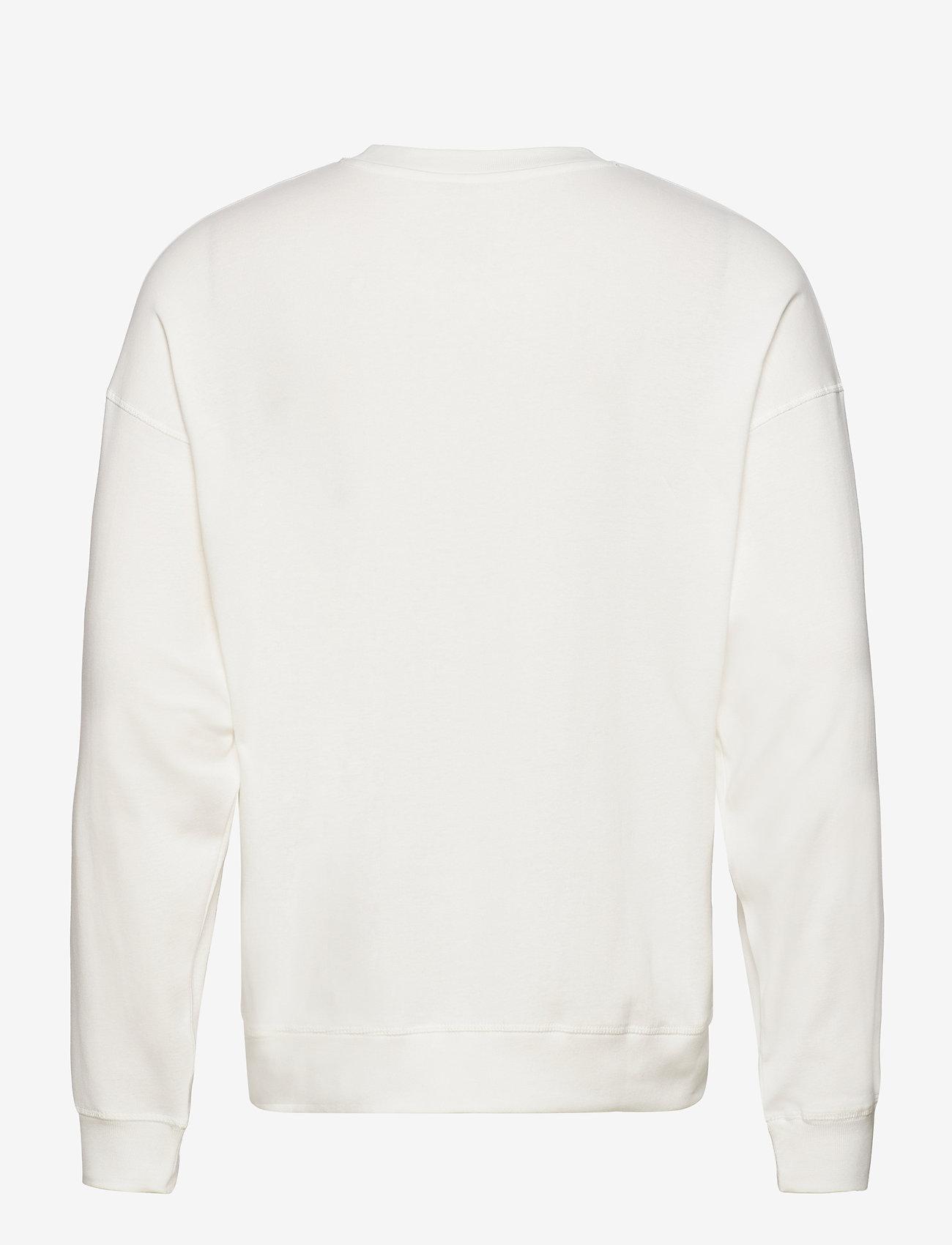 Mads Nørgaard - Cotton Rib Son Badge - truien - marshmallow - 1