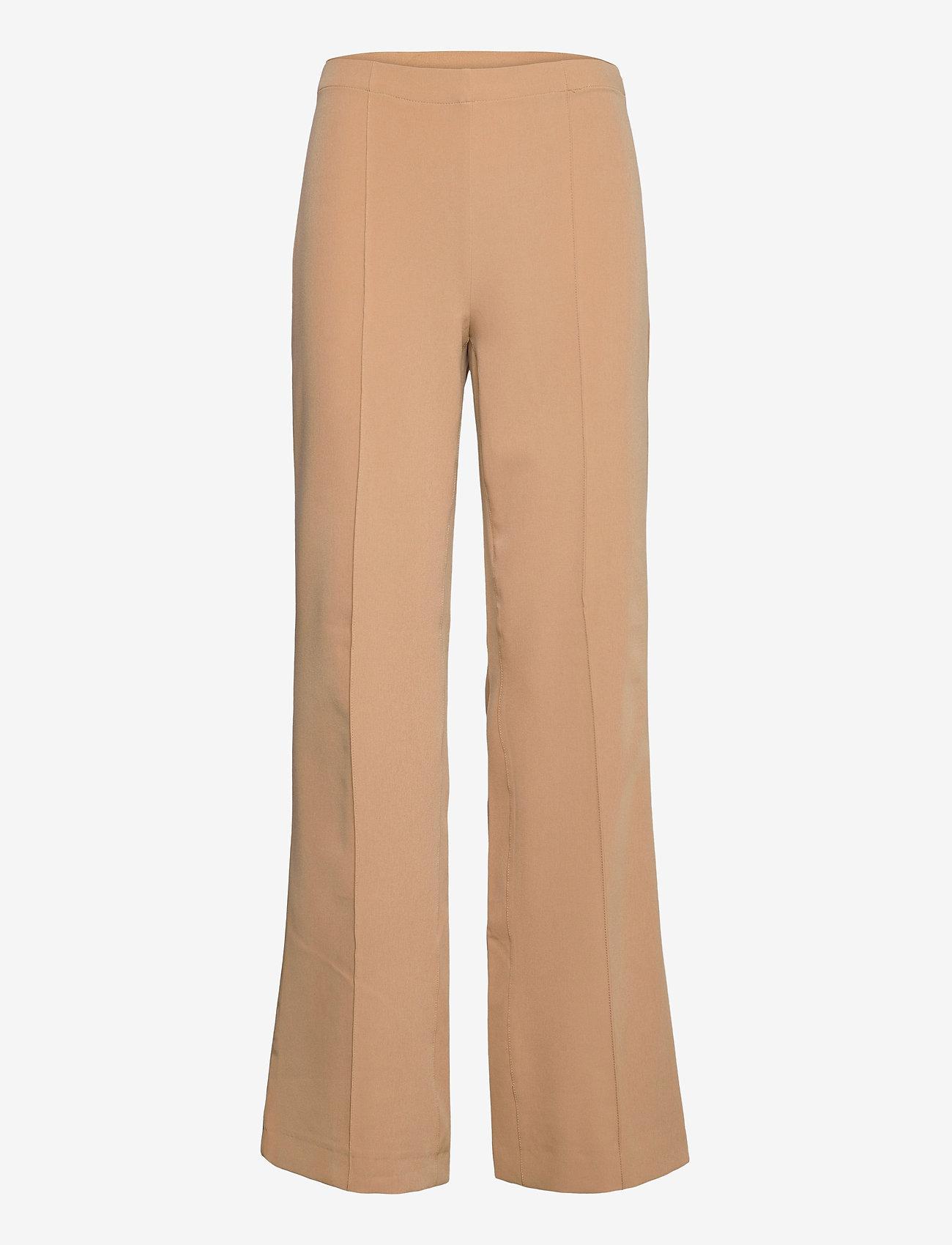 Mads Nørgaard - Sportina Tech Pirla - bukser med brede ben - beige - 0