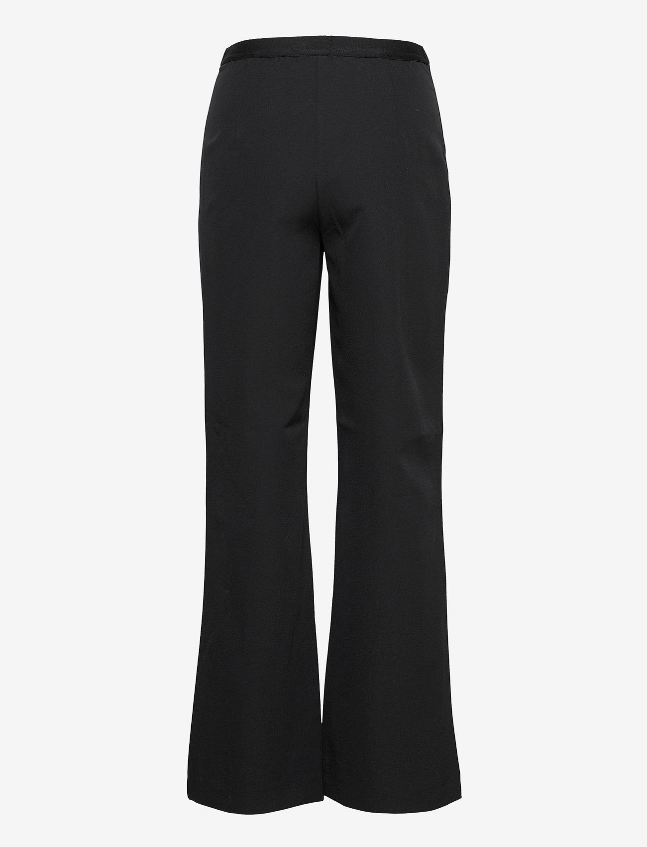 Mads Nørgaard - Sportina Tech Pirla - bukser med brede ben - black - 1