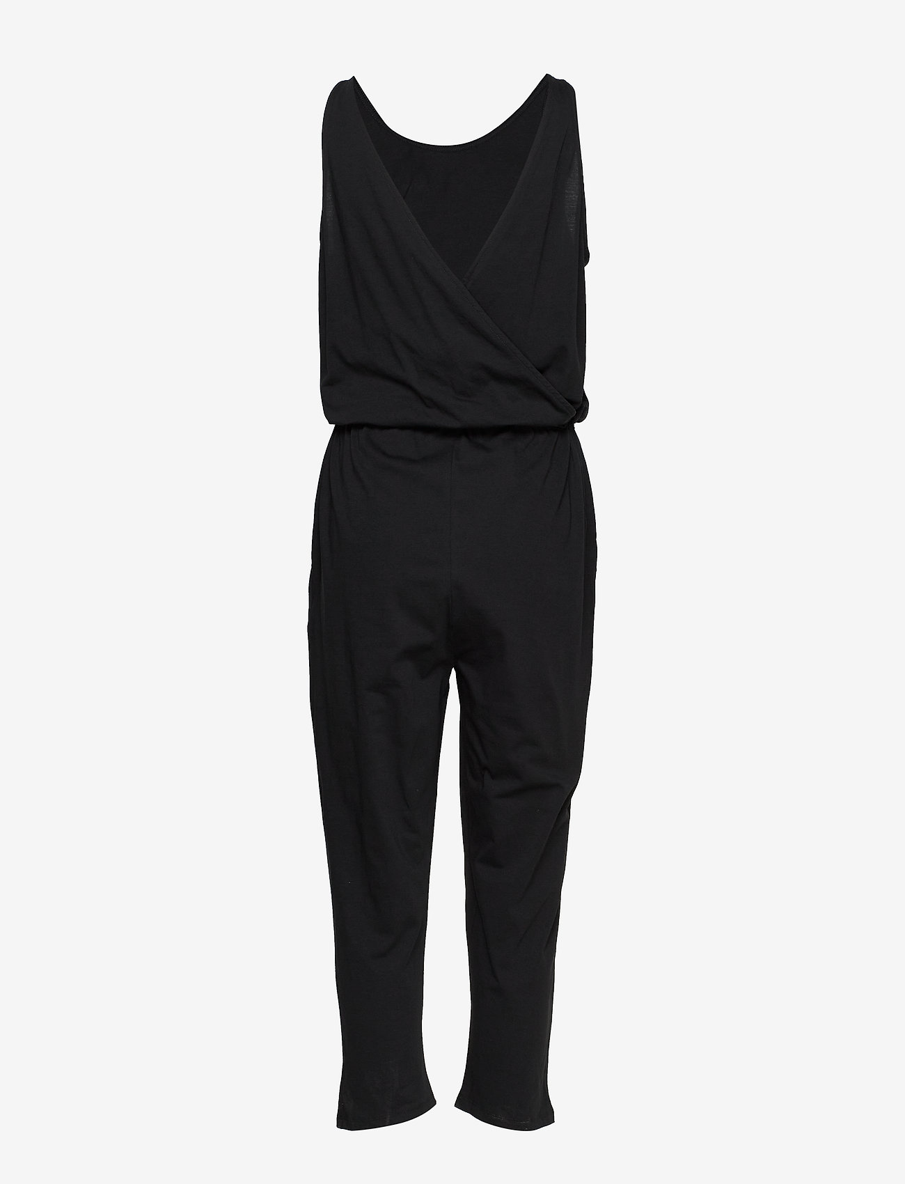 Mads Nørgaard - Jersey dip Clappy - jumpsuits - dark charcoal - 1