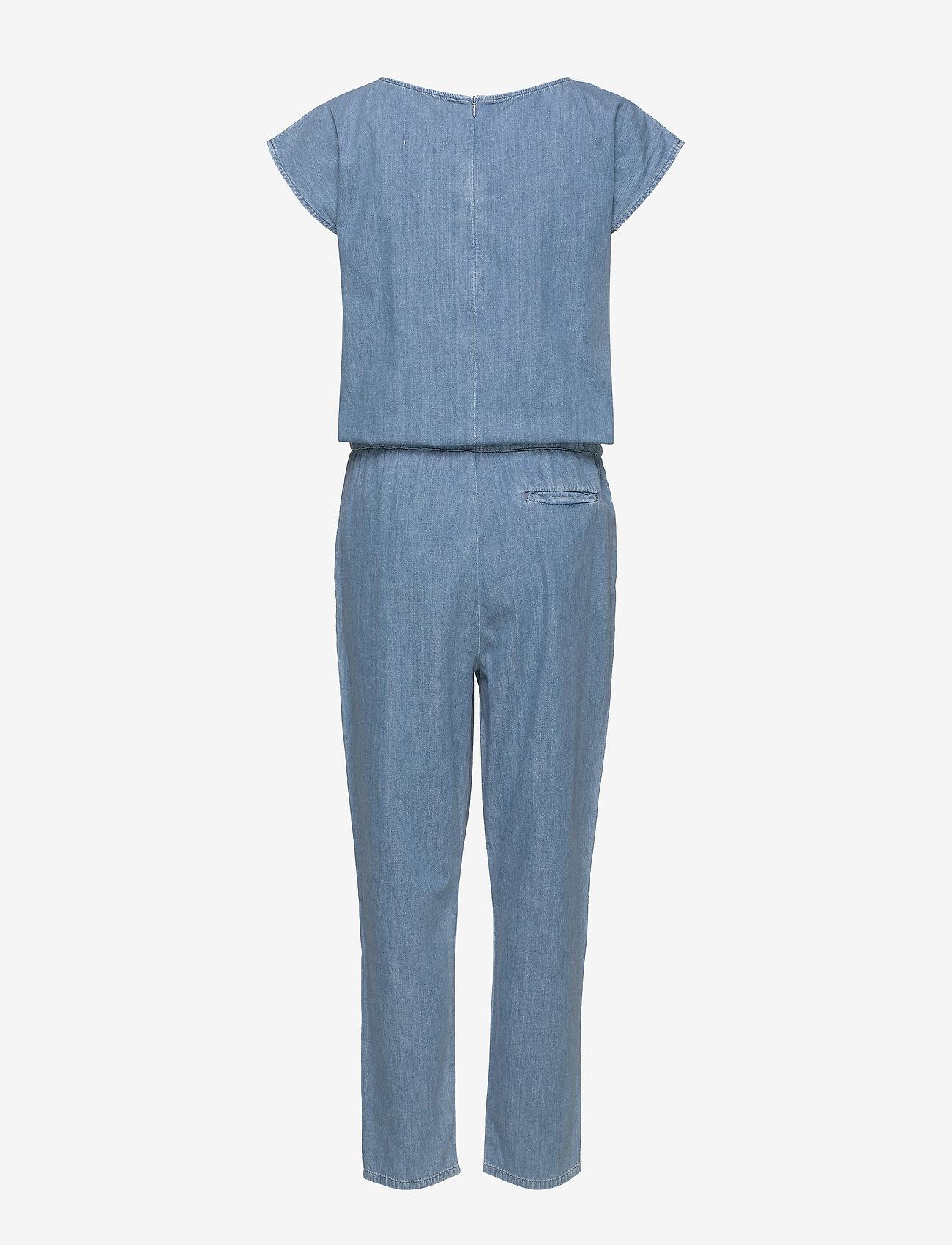 Mads Nørgaard - Soft Indigo Cavi - jumpsuits - pale indigo - 1
