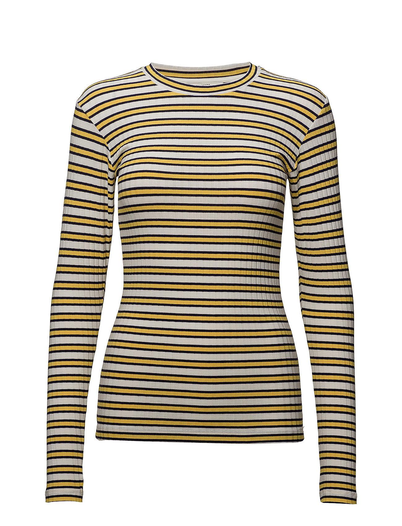 5x5 Stripe Stripe Tuba S Langærmet T shirt Multimønstret MADS NØRGAARD