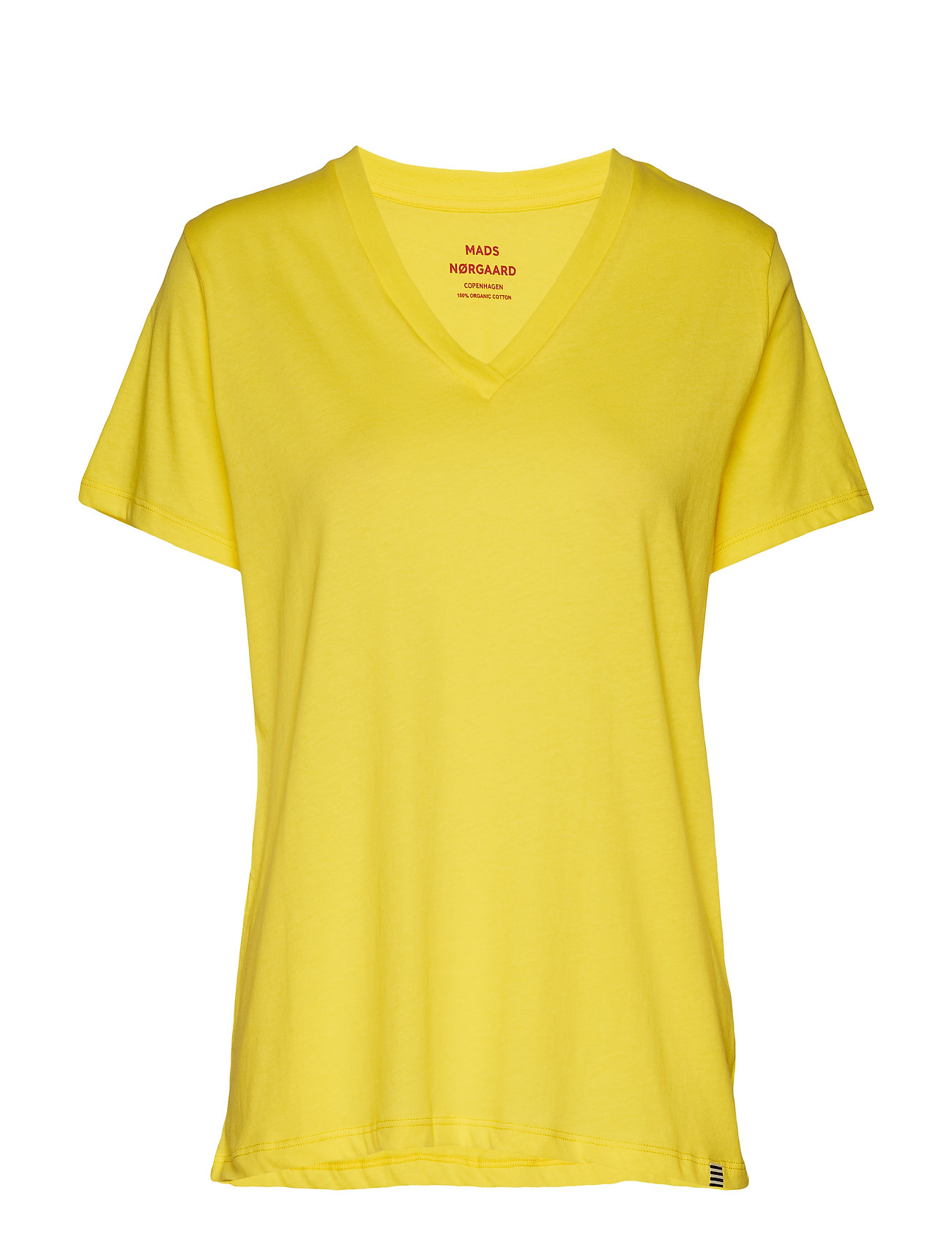 Mads Nørgaard Organic Favorite Trimmy V - COOL YELLOW