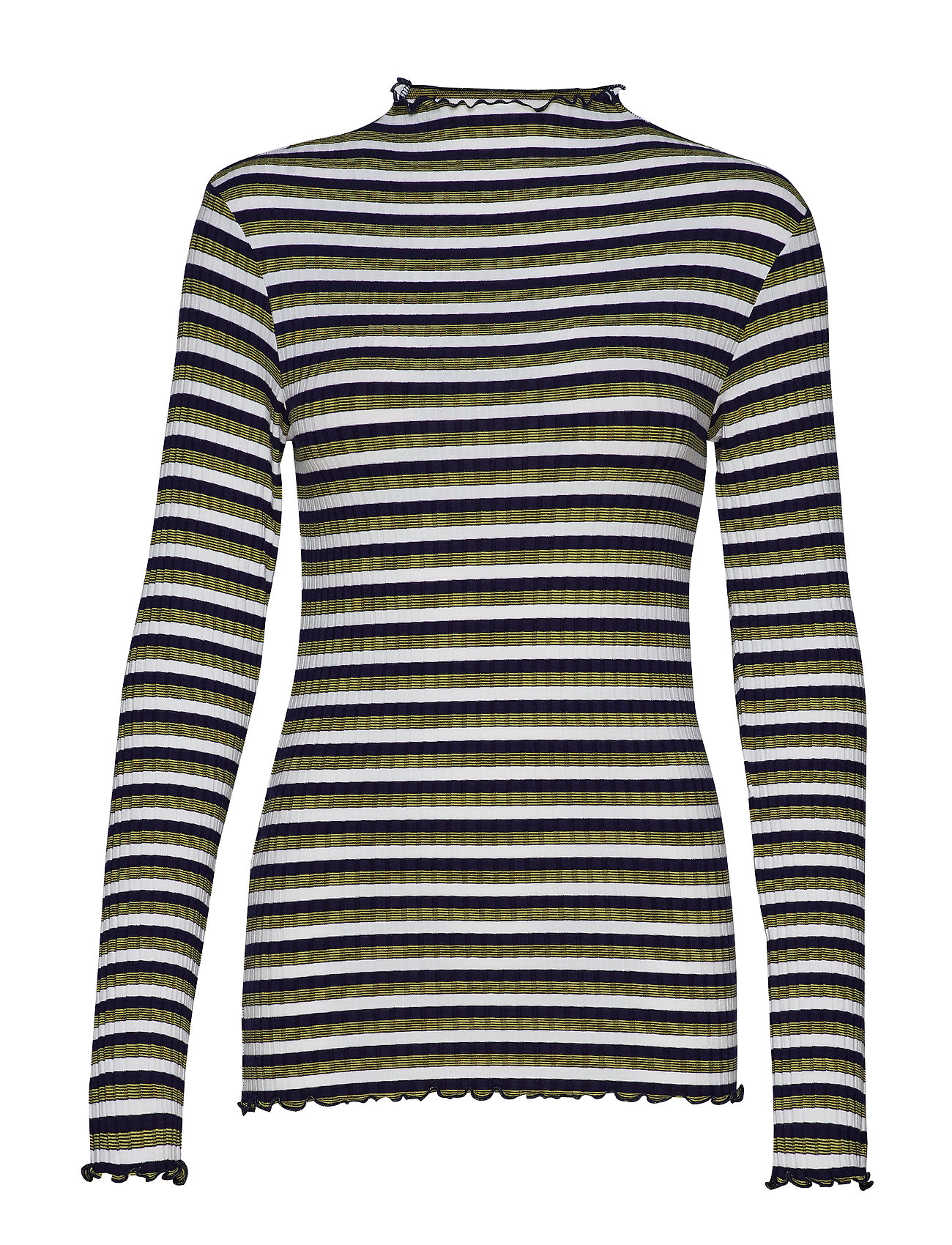 Mads Nørgaard 5x5 Happy Stripe Trutte s - NAVY MULTI