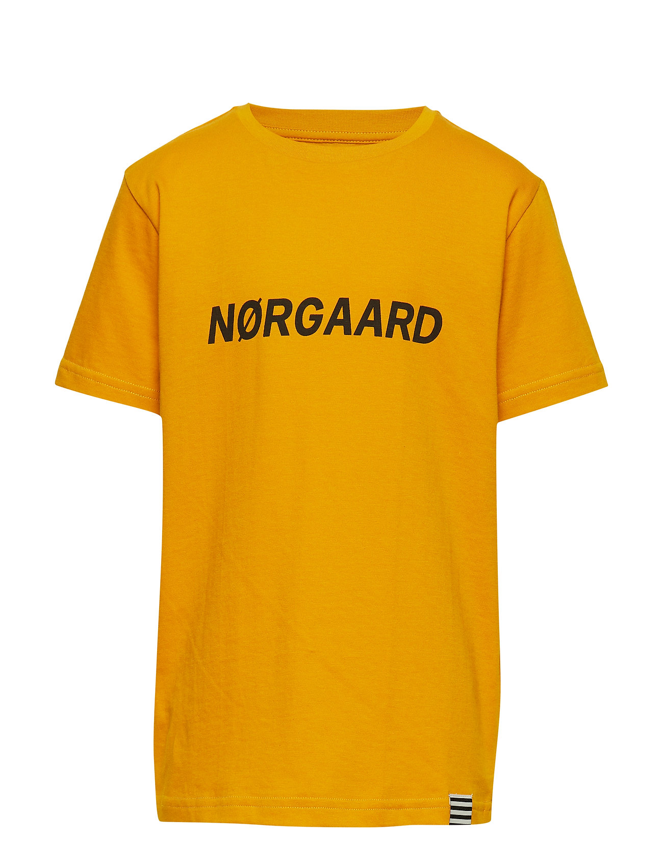 Mads Nørgaard Printed Tee Thorlino - GOLDEN YELLOW