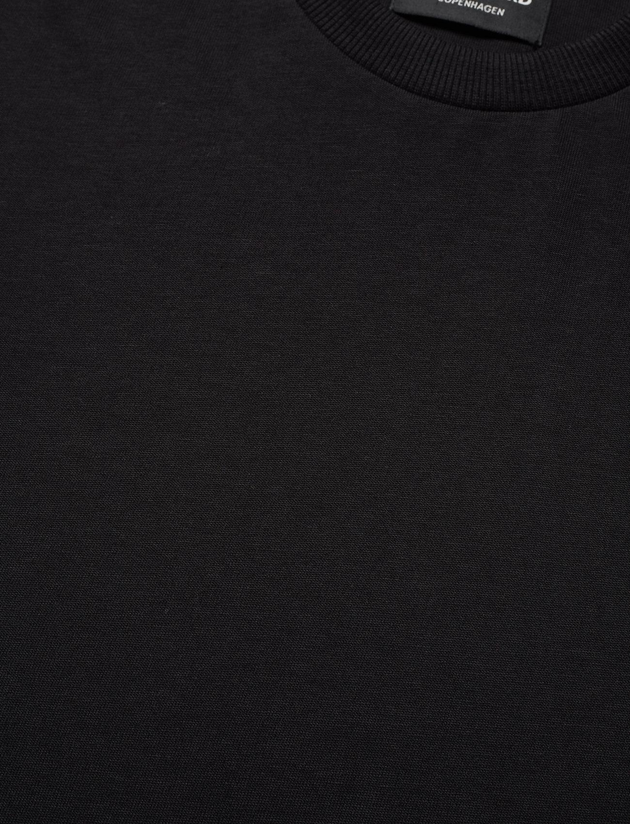 Mads Nørgaard Organic Twin - T-skjorter BLACK - Menn Klær