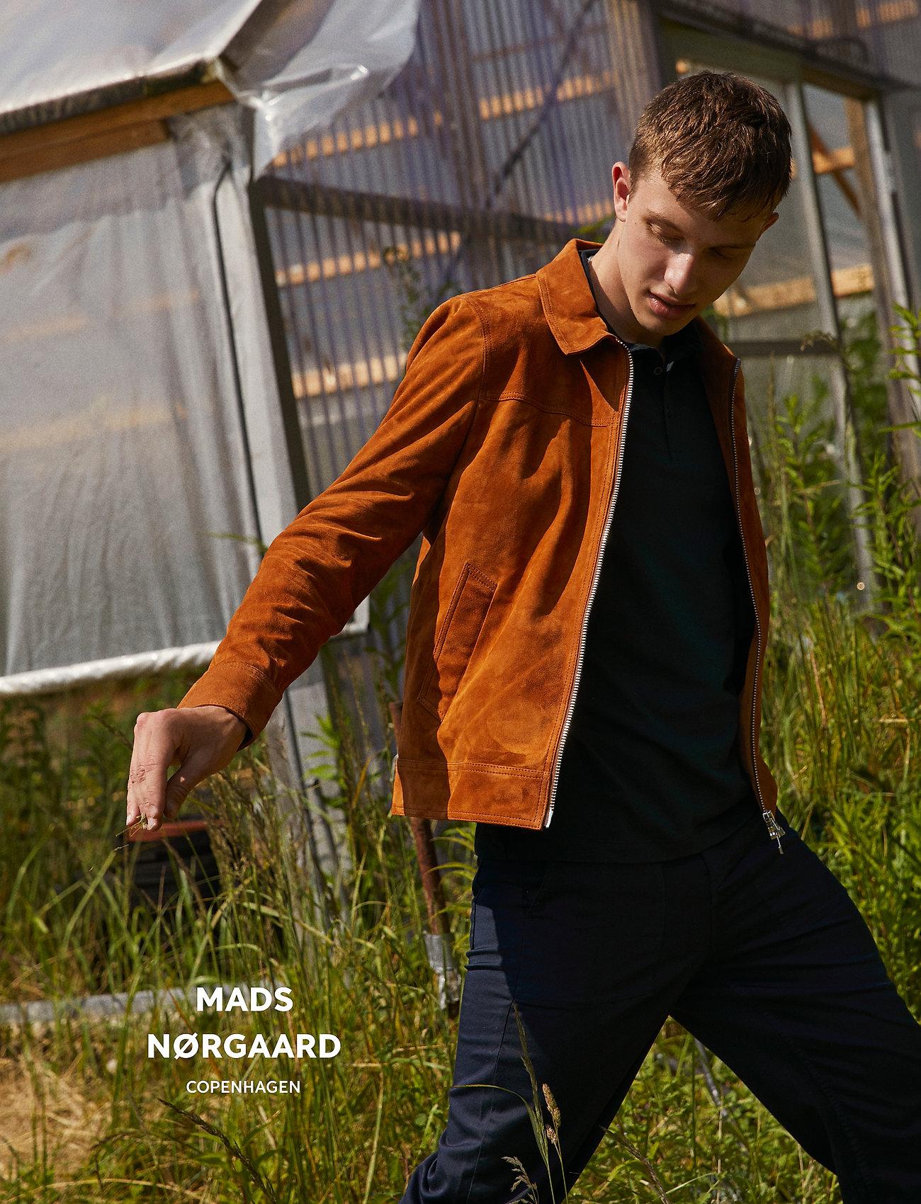 Mads Nørgaard - Leather Jusuf - lederjacken - cognac - 0