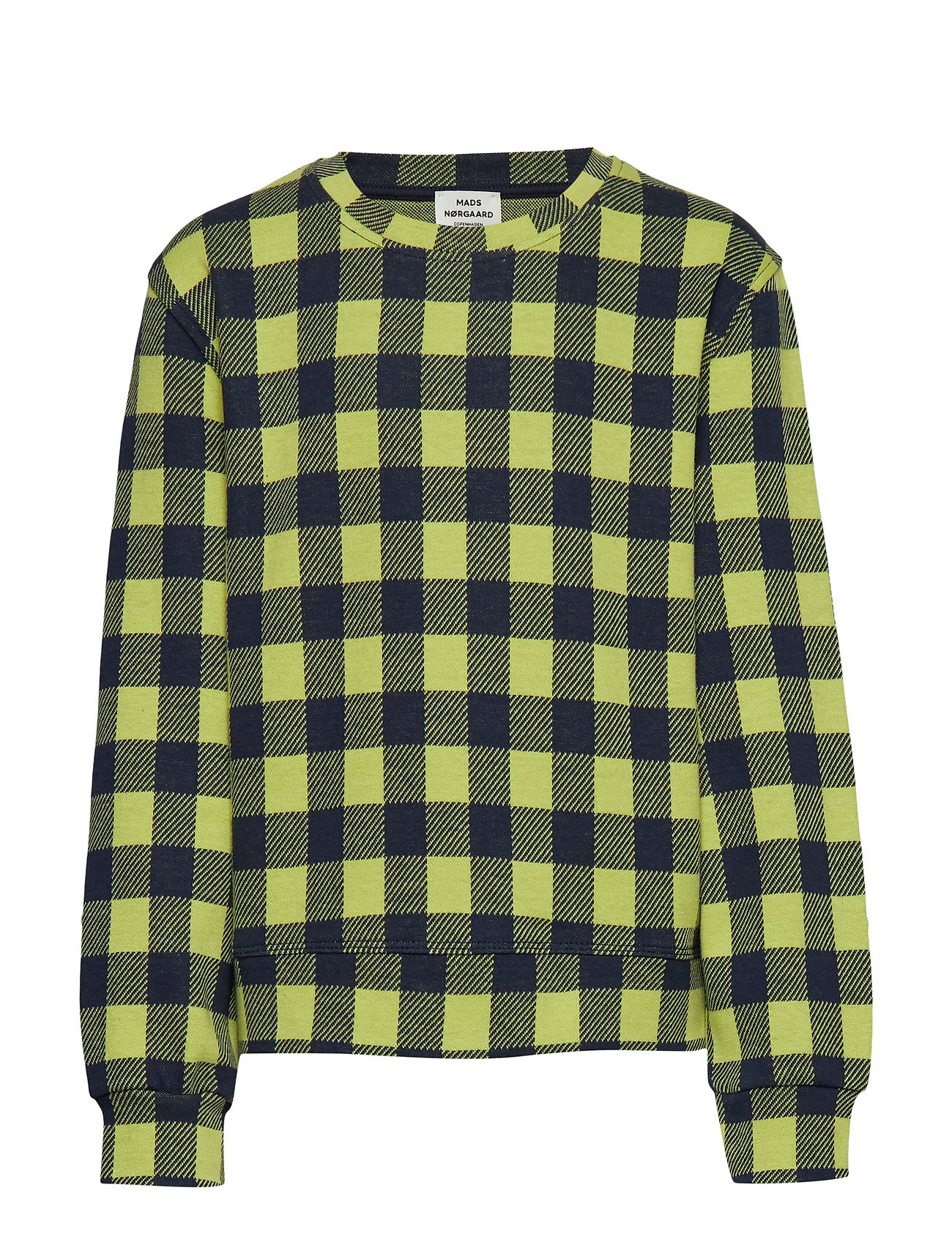 Mads Nørgaard Jaquard Cool Boutique Talinka - NAVY CHECK