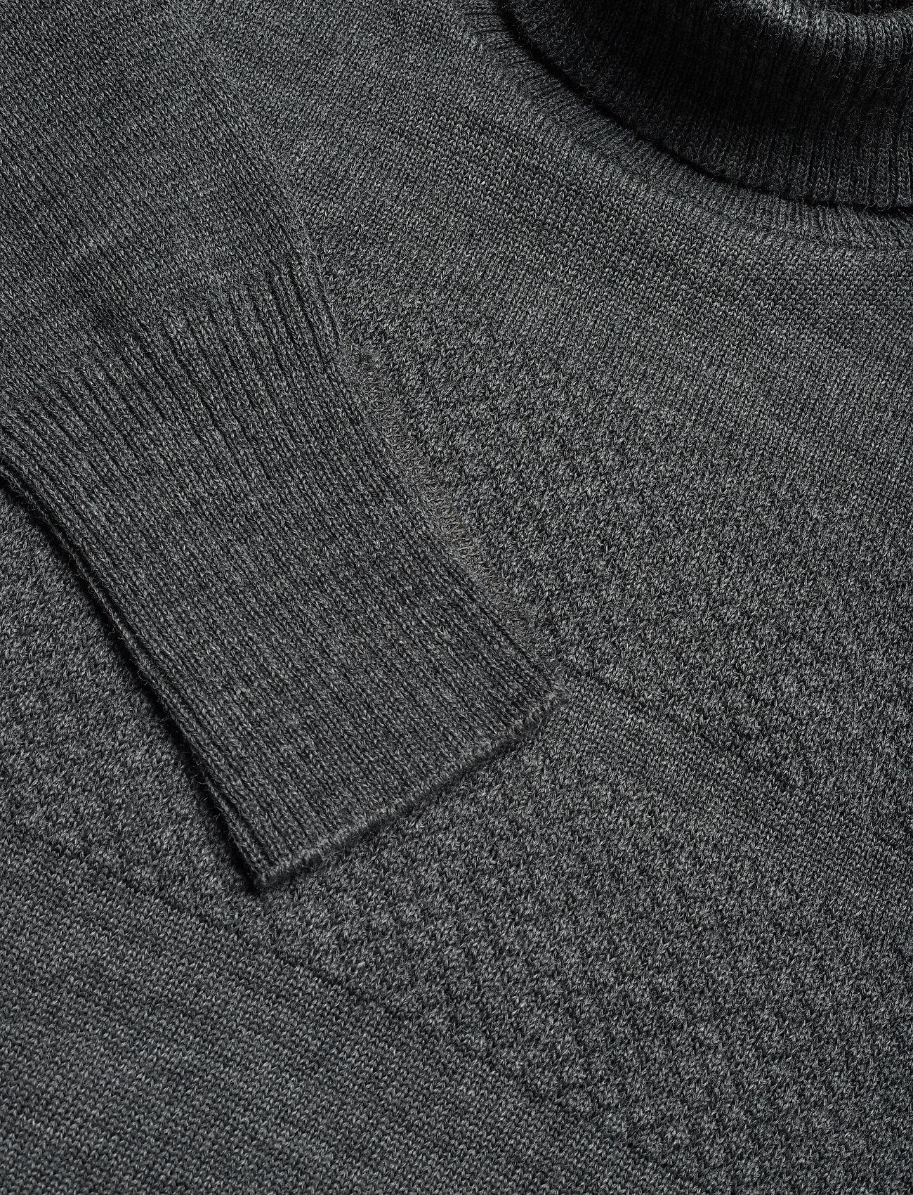 Mads Nørgaard 100% Wool Klemens - Strikkevarer CHARCOAL MELANGE - Menn Klær