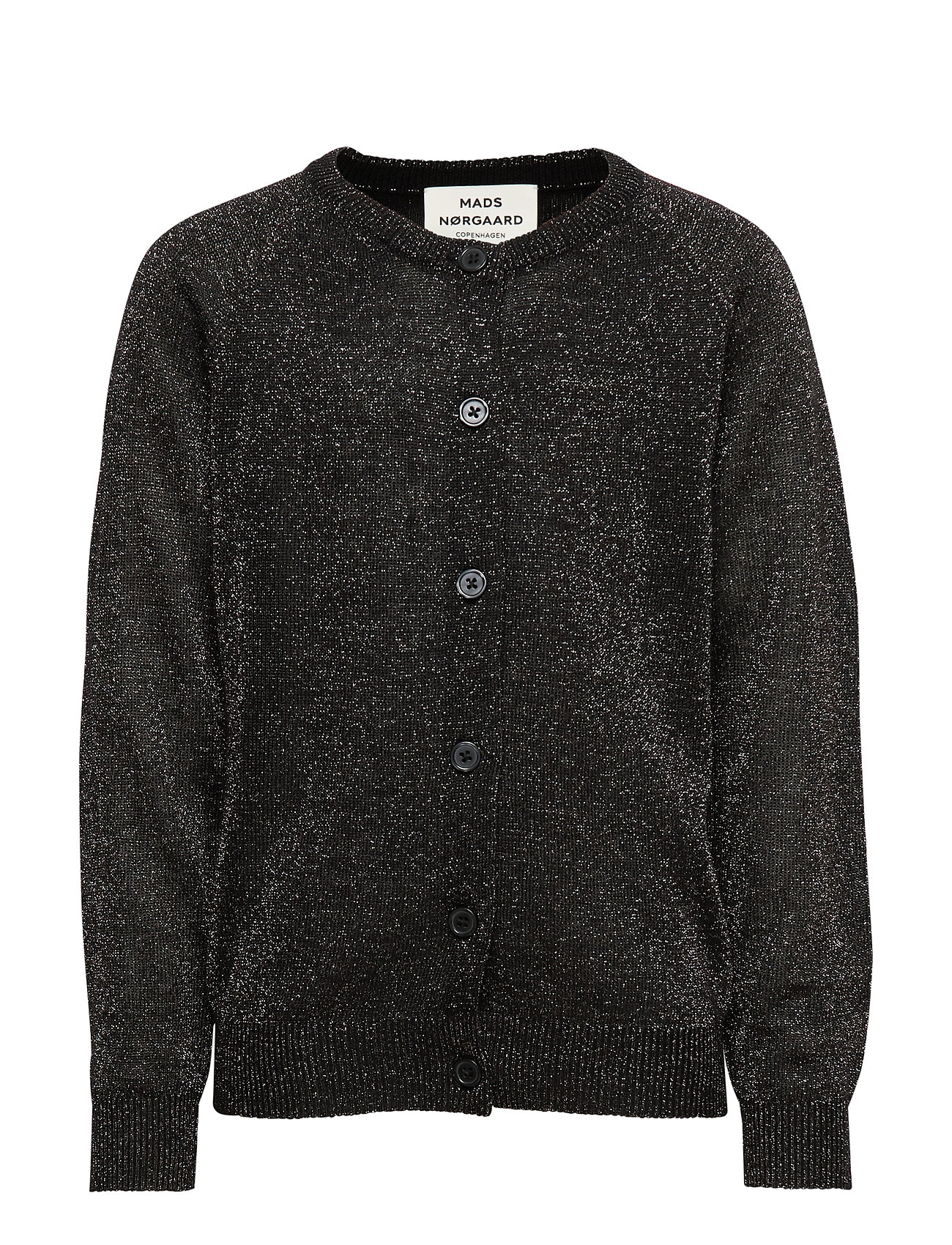 Mads Nørgaard Wool Lurex Carmbino - GLITTERY BLACK