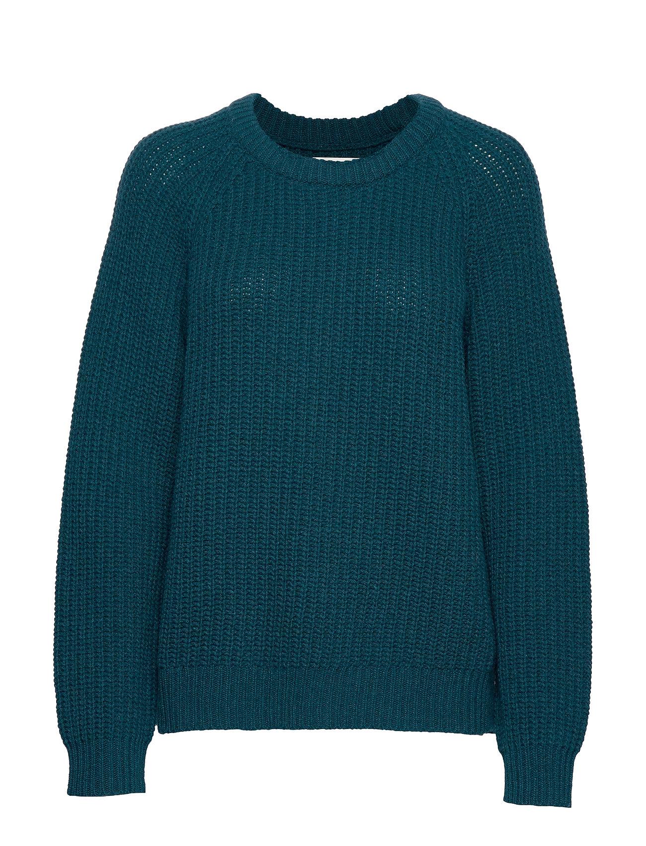 Mads Nørgaard Recycled Favorite Wool Ketty - DARK PETROL