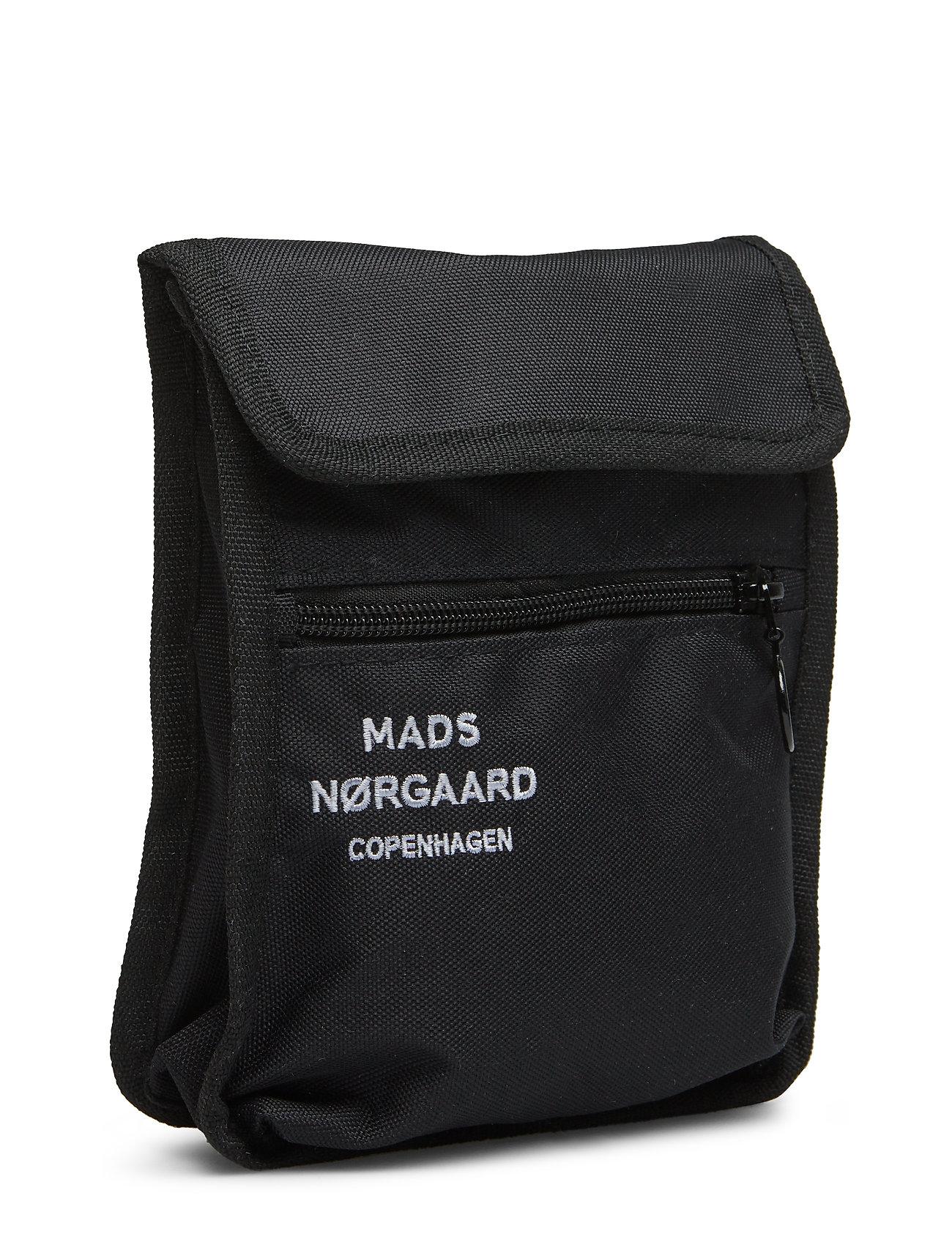 Mads Nørgaard Matt Canvas Alp - Torby na ramię BLACK - Torby