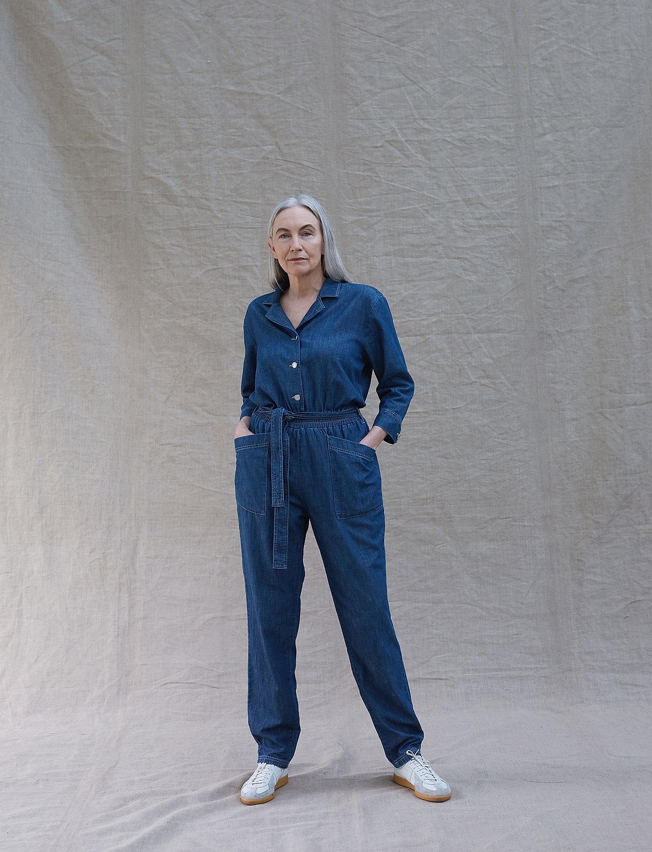 Mads Nørgaard - Light Indigo Cenna - clothing - indigo - 0