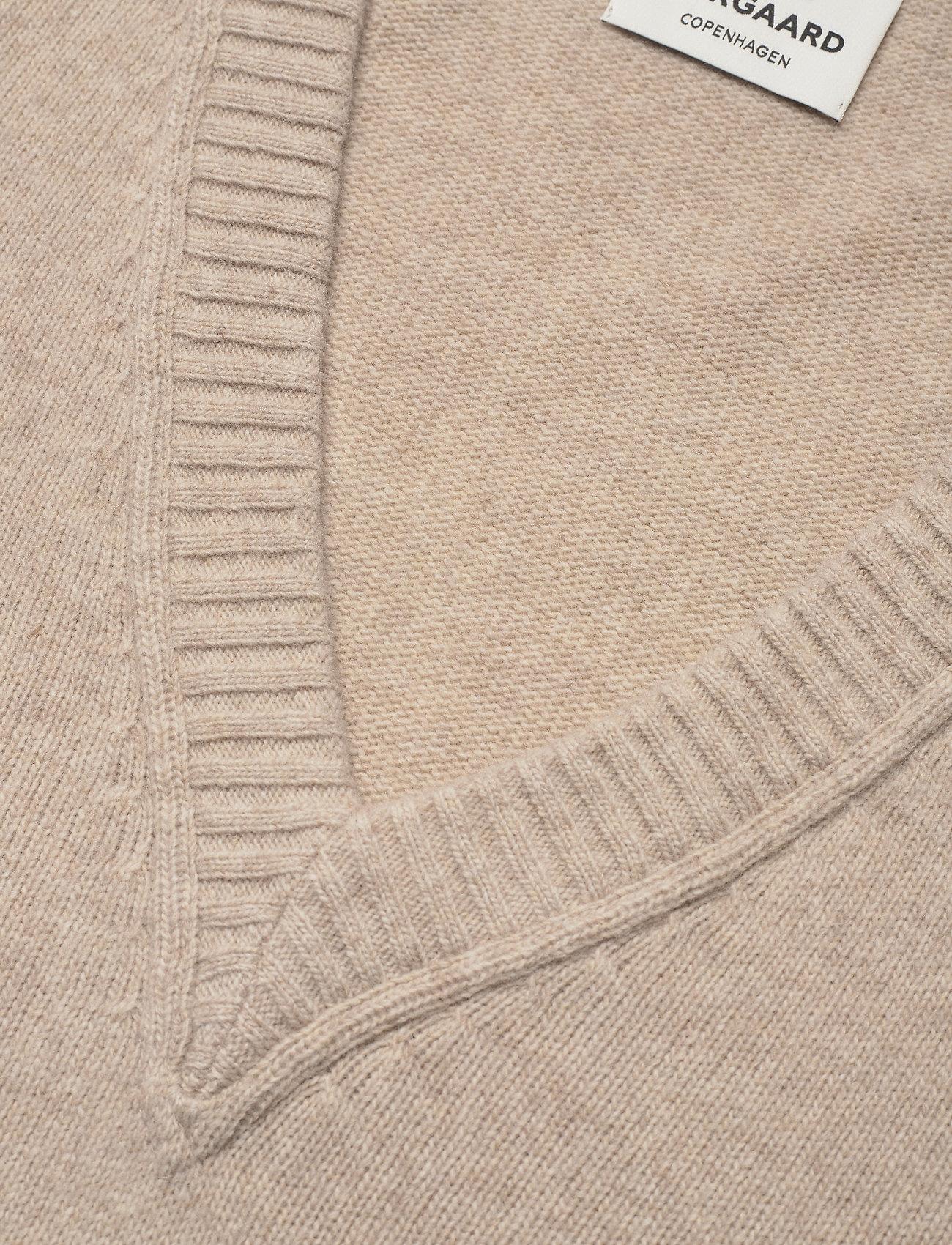 Mads Nørgaard - Recy Soft Knit Vanessa - knitted vests - beige - 2