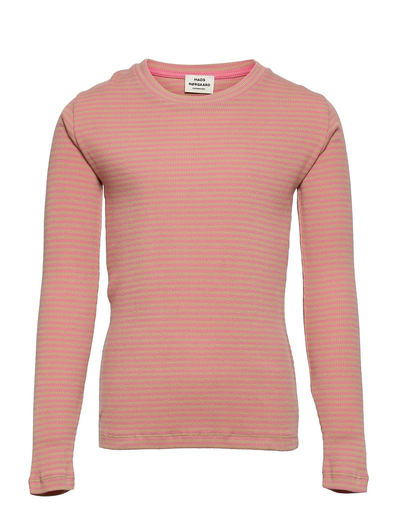 2x2 Cotton Stripe Talino Langærmet T-shirt Multi/mønstret Mads Nørgaard