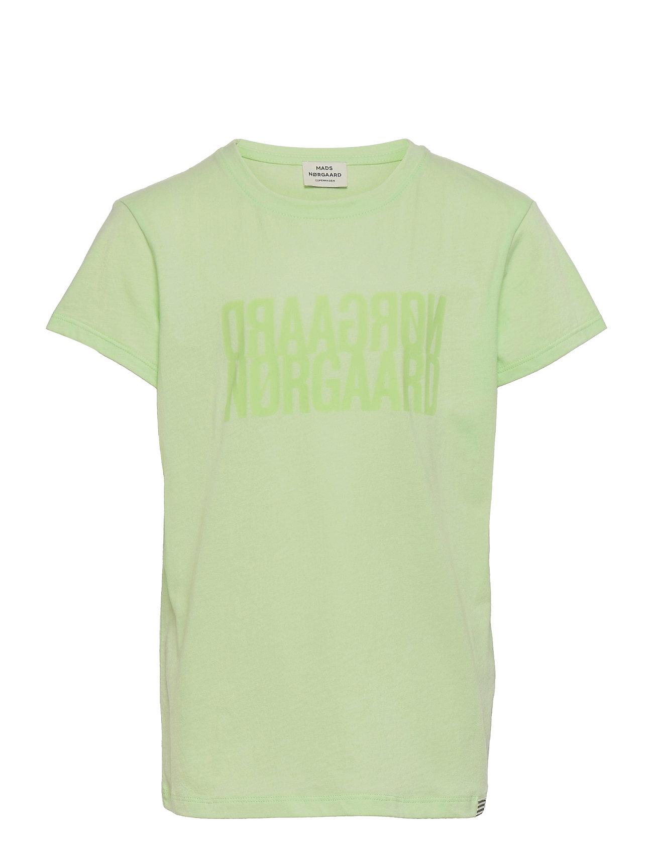 Single Organic Tuvina T-shirt Grøn Mads Nørgaard